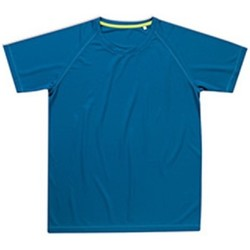 textil Herr T-shirts Stedman  Blå
