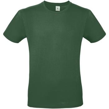 textil Herr T-shirts B And C TU01T Flaskegrön
