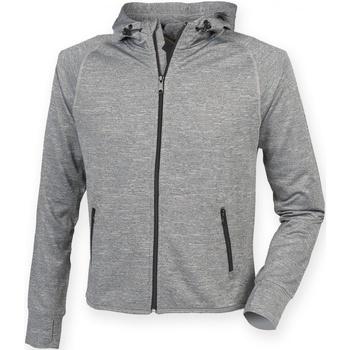 textil Herr Sweatshirts Tombo Teamsport TL550 Grå marl