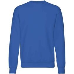 textil Barn Sweatshirts Fruit Of The Loom  Kunglig blå