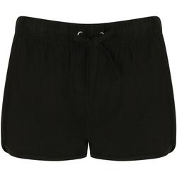 textil Dam Shorts / Bermudas Skinni Fit SK069 Svart/Svart