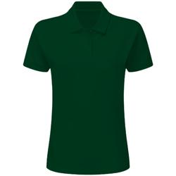 textil Pojkar Kortärmade pikétröjor Sg SG59K Flaskegrön