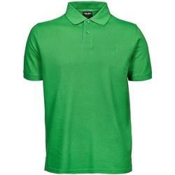 textil Herr Kortärmade pikétröjor Tee Jays TJ1400 Vårgrön