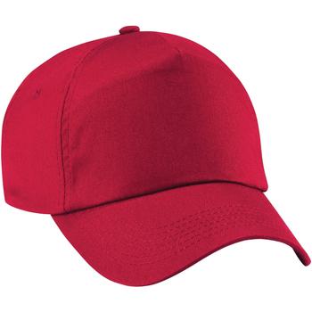 Accessoarer Barn Keps Beechfield B10B Klassiskt röd