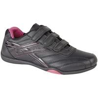 Skor Dam Sneakers Dek Raven Svart/Fuchsia