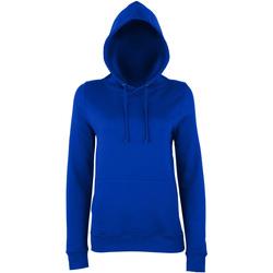 textil Dam Sweatshirts Awdis Girlie Oxford Navy