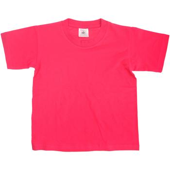 textil Barn T-shirts B And C TK300 Fuchsia