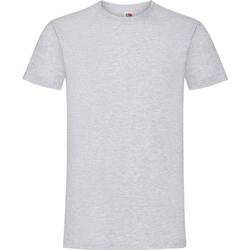 textil Barn T-shirts Fruit Of The Loom 61015 Grått