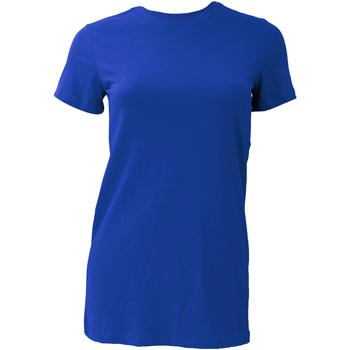 textil Dam T-shirts Bella + Canvas BE6004 True Royal