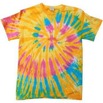 textil Dam T-shirts Colortone Rainbow Aurora