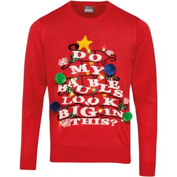 textil Tröjor Christmas Shop CS036 Röd