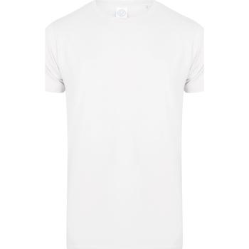 textil Barn T-shirts Skinni Fit SM121 Vit