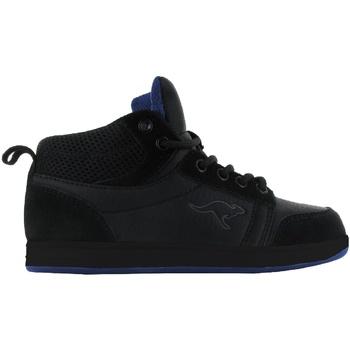 Skor Barn Höga sneakers Kangaroos  Svart/Svart/Royal
