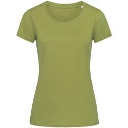 textil Dam T-shirts Stedman Stars  Earth Green