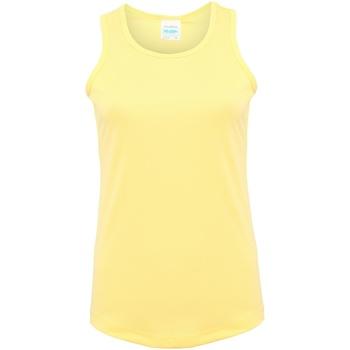 textil Dam Linnen / Ärmlösa T-shirts Awdis JC015 Sherbet Lemon