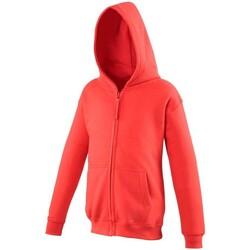 textil Barn Sweatshirts Awdis JH50J Eldröd