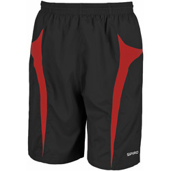 textil Herr Shorts / Bermudas Spiro S184X Svart/röd