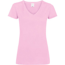 textil Dam T-shirts Universal Textiles Value Baby rosa