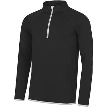 textil Herr Sweatshirts Awdis JC031 Jet Black/ Arctic White