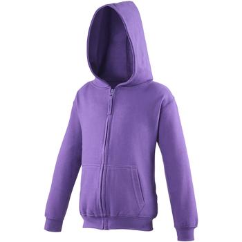 textil Barn Sweatshirts Awdis JH50J Lila