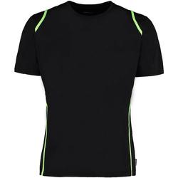 textil Herr T-shirts Gamegear Cooltex Svart/lysande lime
