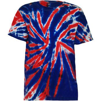 textil Barn T-shirts Colortone TD02B Union Jack