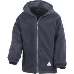textil Barn Fleecetröja Result R160JY Marinblått/Navy
