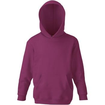 textil Barn Sweatshirts Fruit Of The Loom SS273 Bourgogne