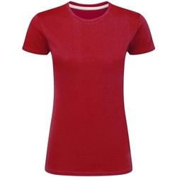 textil Dam T-shirts Sg Perfect Röd