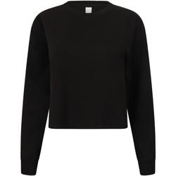 textil Dam Sweatshirts Skinni Fit SK515 Svart