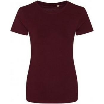 textil Dam T-shirts Ecologie EA01F Bourgogne