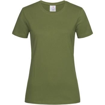 textil Dam T-shirts Stedman  Hunters Green