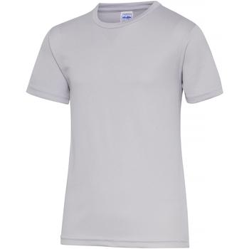 textil Barn T-shirts Awdis JC01J Grått