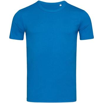 textil Herr T-shirts Stedman Stars Morgan King Blue