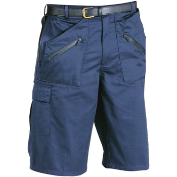 textil Herr Shorts / Bermudas Portwest PW103 Mörkblått