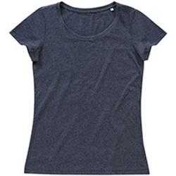 textil Dam T-shirts Stedman Stars Lisa Charcoal Heather Grey