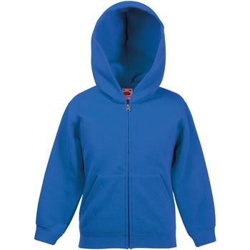 textil Barn Sweatshirts Fruit Of The Loom SS825 Kunglig blå