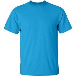 textil Herr T-shirts Gildan Ultra Saphire