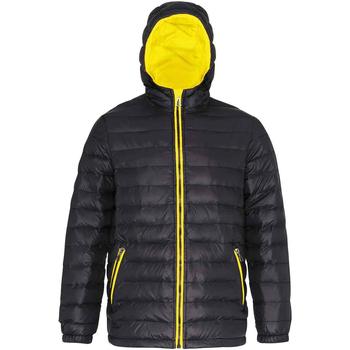textil Herr Täckjackor 2786 TS016 Svart/blankt gult