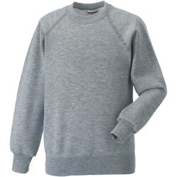 textil Barn Sweatshirts Jerzees Schoolgear 7620B Ljus Oxford