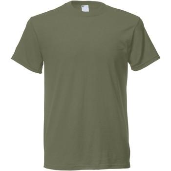 textil Herr T-shirts Universal Textiles 61082 Olivgrön
