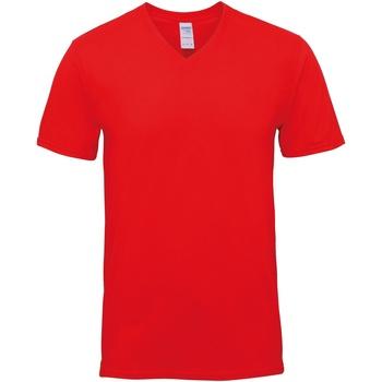 textil Herr T-shirts Gildan GD016 Röd