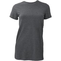 textil Dam T-shirts Bella + Canvas BE6004 Mörk ljung