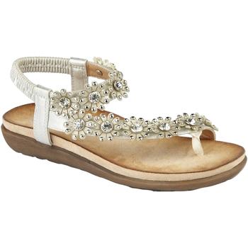 Skor Dam Sandaler Cipriata  Lätt silver