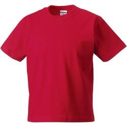 textil Barn T-shirts Jerzees Schoolgear ZT180B Klassiskt röd