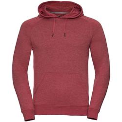 textil Herr Sweatshirts Russell R281M Röd marl