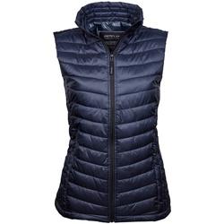 textil Dam Koftor / Cardigans / Västar Tee Jays TJ9633 Djupt marinblått