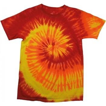textil Dam T-shirts Colortone Rainbow Blaze