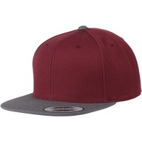 Accessoarer Keps Yupoong YP010 Burgundy/Charcoal