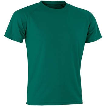 textil T-shirts Spiro Aircool Flaskegrön
